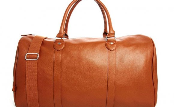 ASOS Smart Holdall in Tan