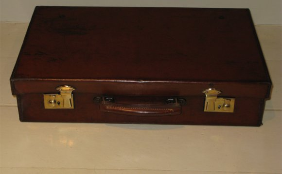 1930s Leather Attache