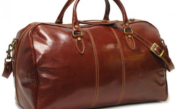 Floto Venezia Leather Duffle