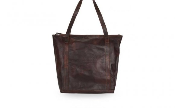 Chocolat Brown Leather Tote
