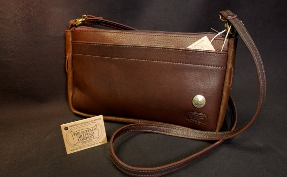 K.W. Buffalo Leather Purse