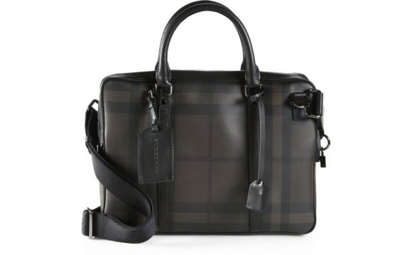 Burberry Newburg Small Leather