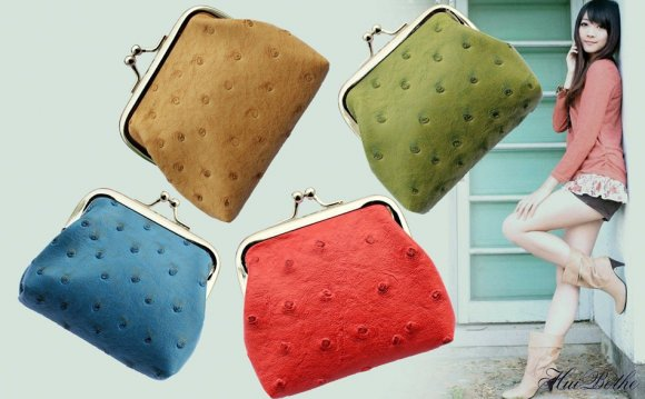 PU leather change purses!