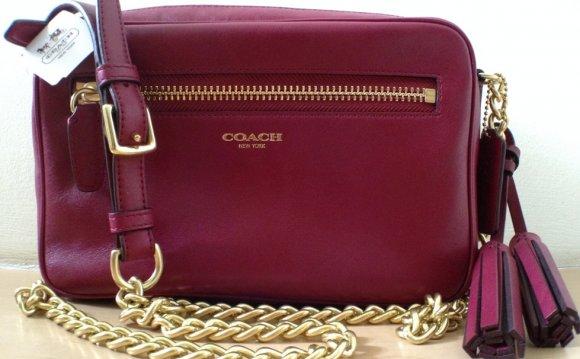 Coach Leather Flight Bag