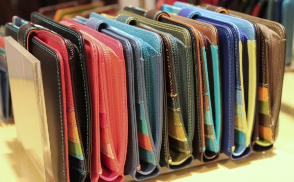 Colorful Leather Wallets for