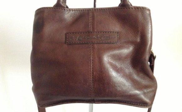 Fossil Leather Shoulder Bag 46