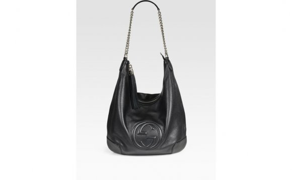 Gucci Soho Leather Chain Hobo