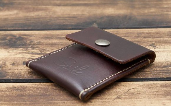 Handmade Leather Coin