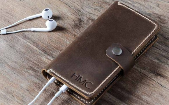 Leather iPhone 6 Case 056p