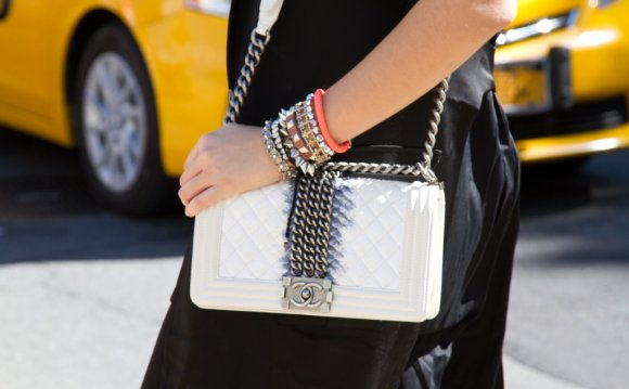 White chanel bag Are You