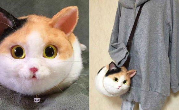 Japan s Lifelike Cat Bags