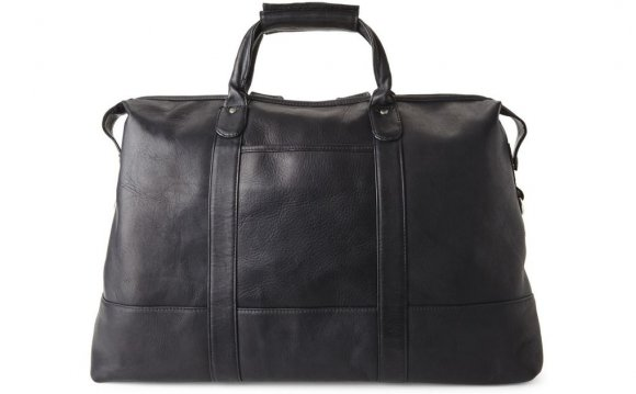 Latico Black Duffel in Black