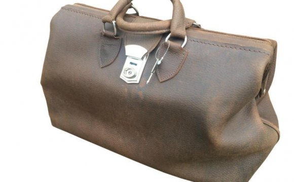 Leather Doctors Bag | eBay