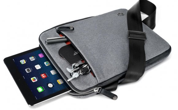 Leather Ipad Shoulder Bag