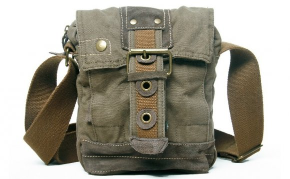 Men S Small Canvas Shoulder