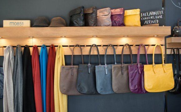 An array of attractive leather