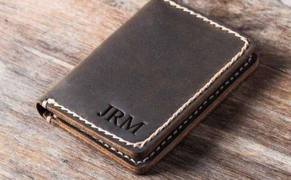Mens card case wallet