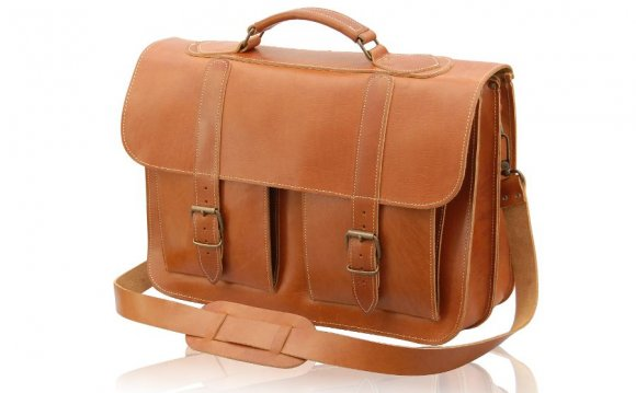 Mens handbags leather