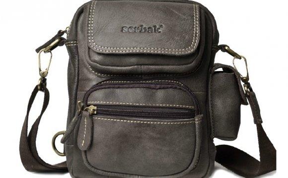 Mens messenger bag leather
