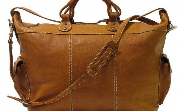 Parma Tote Leather Weekend Bag
