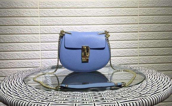 Fashion Women Bag Solid Saddle