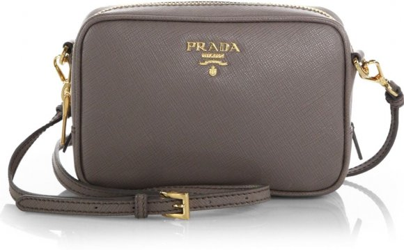 Prada Saffiano Leather Camera