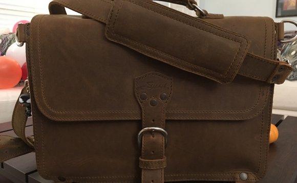Saddleback Thin Briefcase