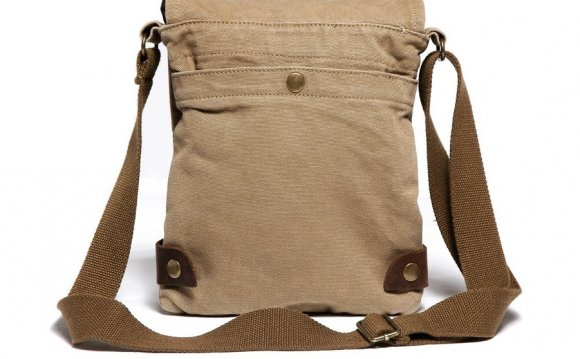 Small canvas shoulder bags