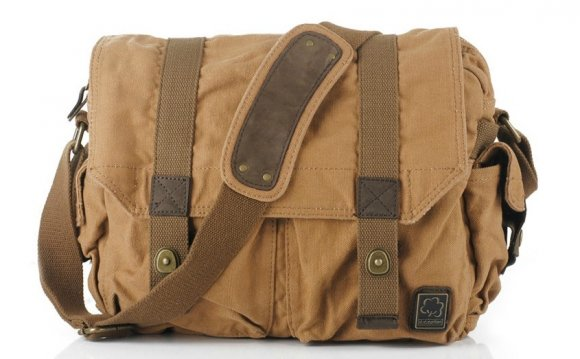 MEN S CANVAS MESSENGER BAGS