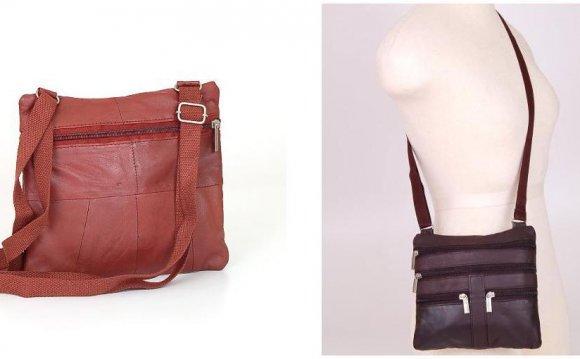 Soft Leather Shoulder Bag 60