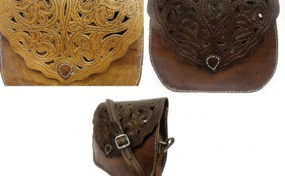 Vintage leather bags ebay uk