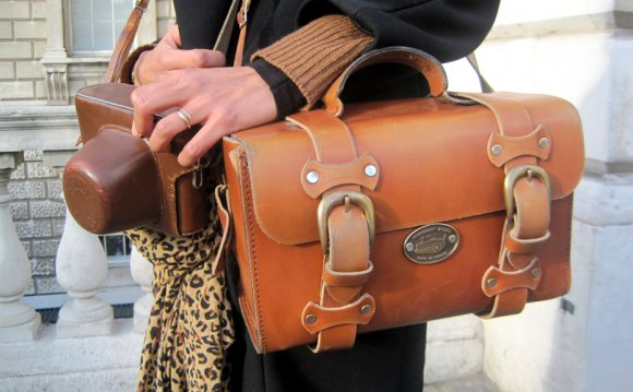 Vintage Leather Camera Bags