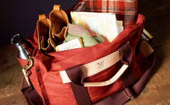 Wax Coated Canvas Duffle by