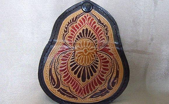 Handmade leather purses