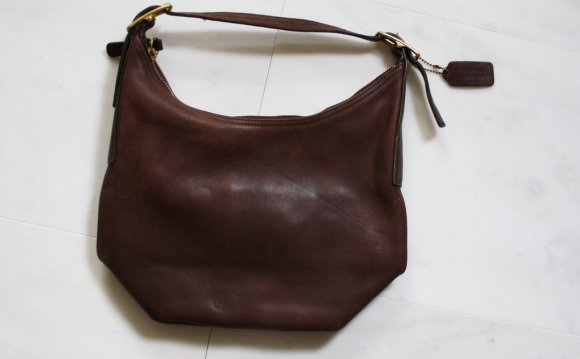 Coach Leather Bucket Bag