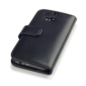Adarga HTC One M8 Leather-Style Wallet Case