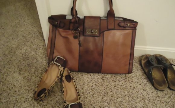 Fossil Leather Purses on Sale