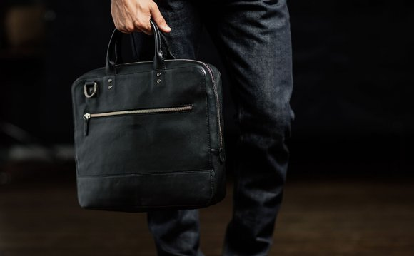 Leather Work Bags Men Catbags