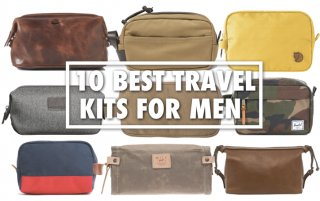 Best Travel Kit For Men (Toiletry Bag, Dropp Kit, Bathroom Bag)