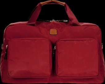 BRIC'S X bag Deluxe Duffle Bag Red