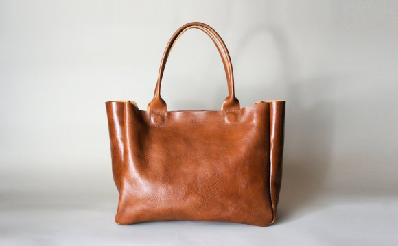 Cognac Leather Purses