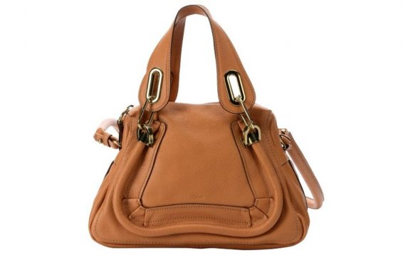 Small Leather Satchel Handbag