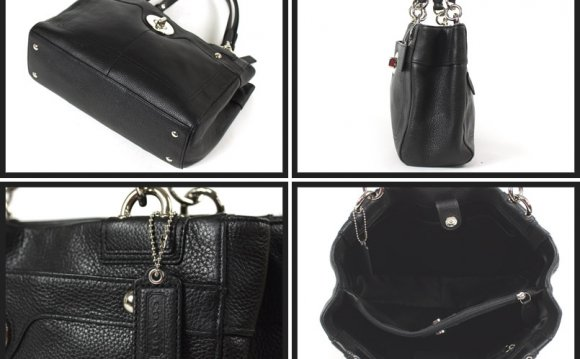 Coach Patent Leather Handbags