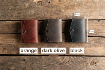 Colors Bordo mini 2: orange, dark olive, black