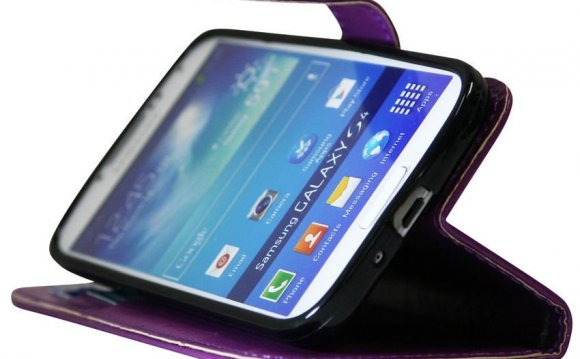 Leather Wallet Case for Galaxy S4