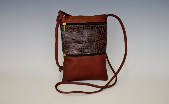 Leather Tote Bags with Zipper