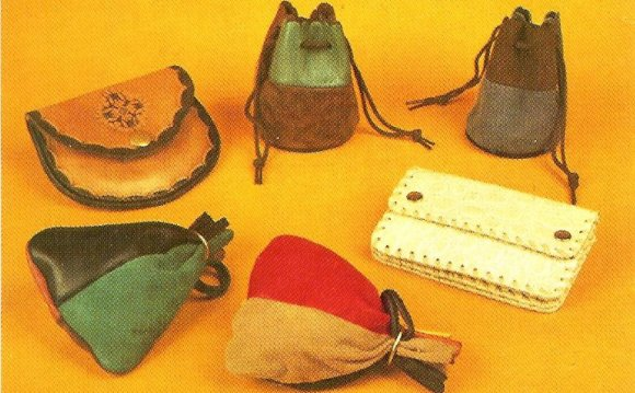 How to make Leather purses?