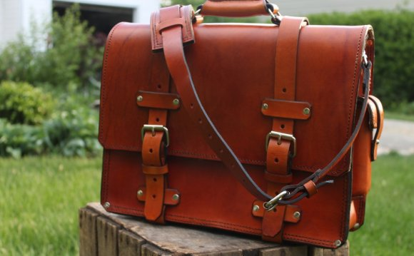 Handmade Leather briefcases