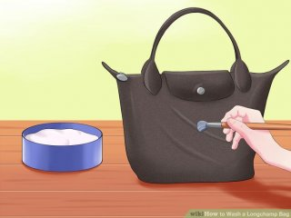 Image titled Wash a Longchamp Bag Step 1