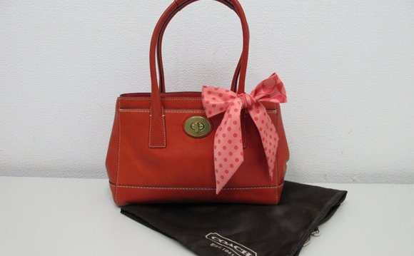 Coach Leather Tote Bags